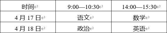 云南省2021年普通高等学校招生运动训练武术与民族传统体育及高水平运动队专业文化考试