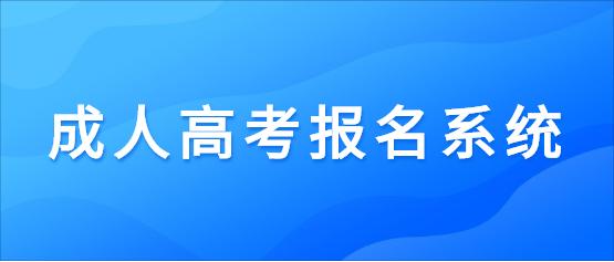 2021年云南经济管理学院成人高考报名系统入口
