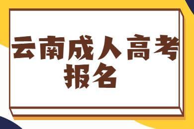 云南成考大专报名